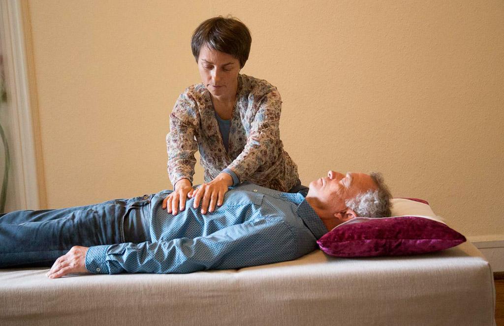 Foto: Atemtherapie Einzelbehandlung